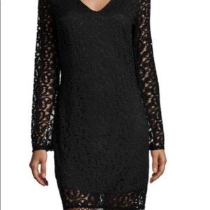 Laundry by Shelli Segal Black Lace Dress - NWT